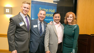 Liz Claman at the Executive Suite Series