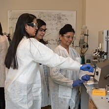 Research Students in a Biochemistry Lab