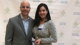 Picture of Stephanie Macias-Arlington wins an award