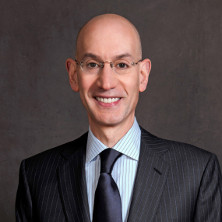 Headshot of NBA Commissioner, Adam Silver