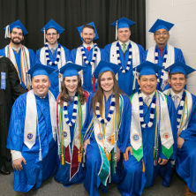 Photo of Gerald P. Buccino Center graduates