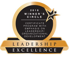 Leadership Excellence 2016 badge