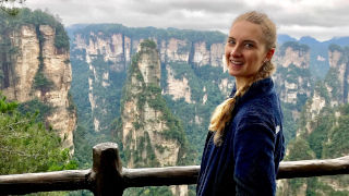 Picture of Abigail Hofmann in China