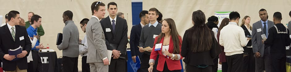Career Fair at Seton Hall