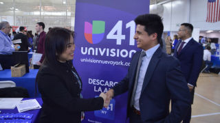 Univision at Career Fair