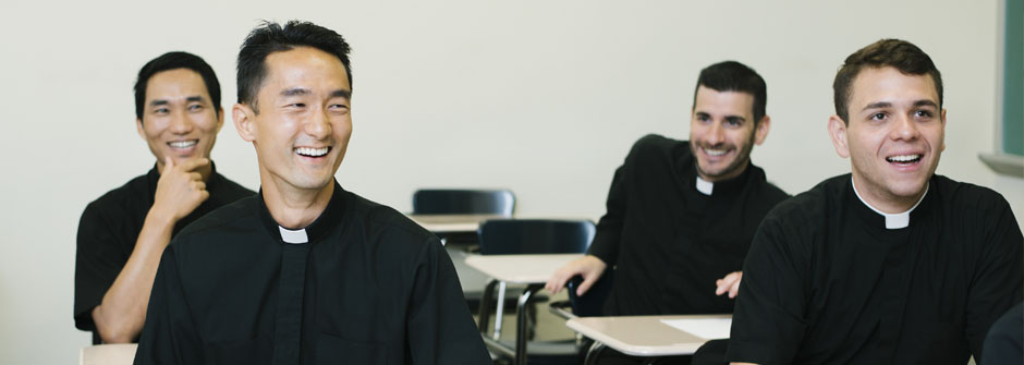 priests in class