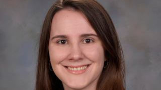 Samantha Pettigrew '14, a Catholic Studies major.