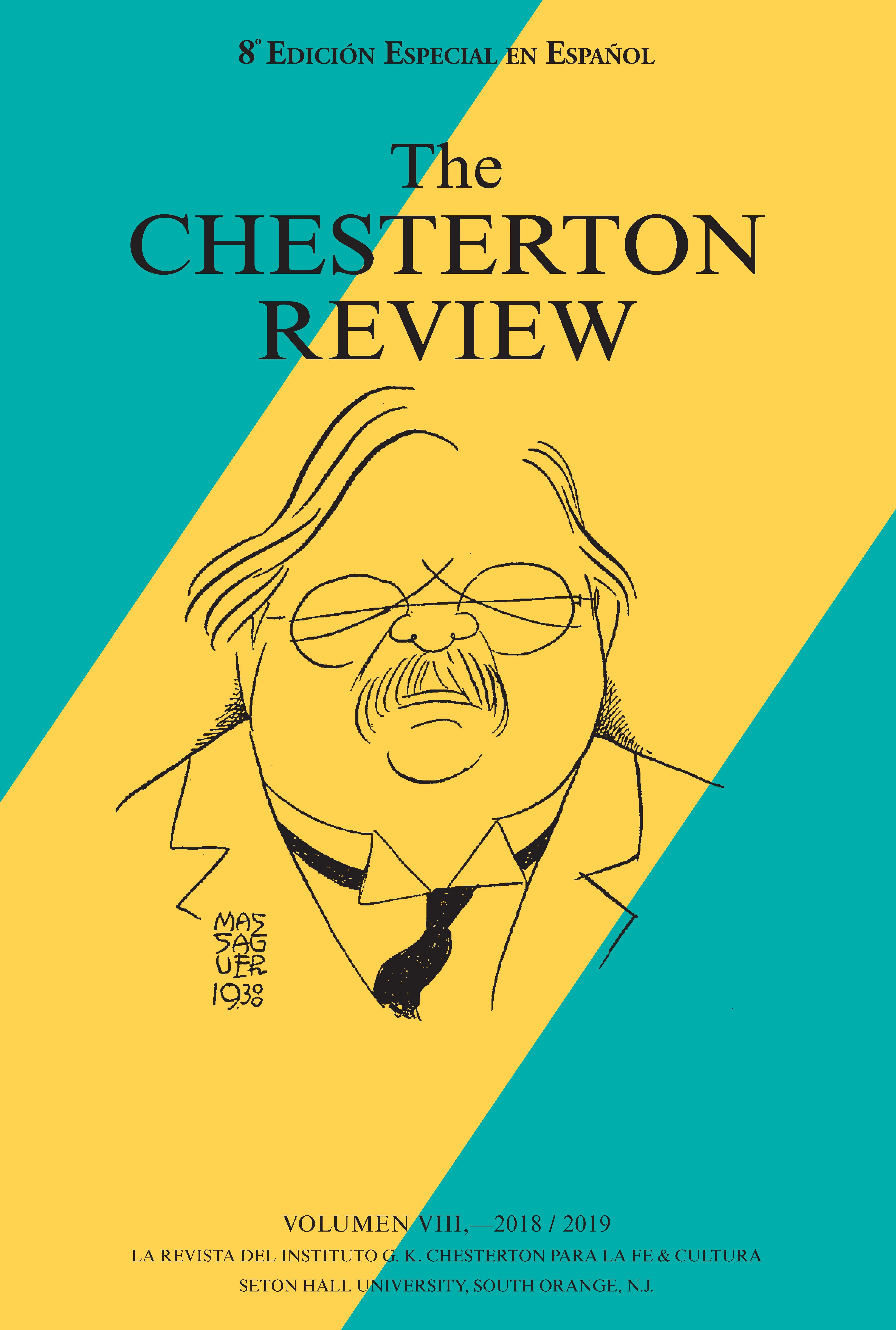Chesterton Review Spanish Edition 2020