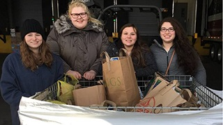 WSOU Food Bank Collection