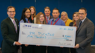 Picture of Students win Health Care Challenge
