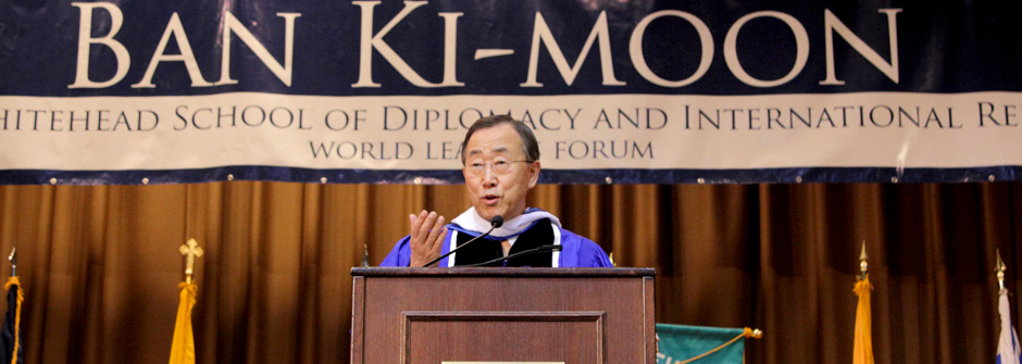 ban-ki moon, un secretary general, united nations, world leader forum
