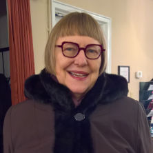 Dr. Catherine Tinker in January 2019