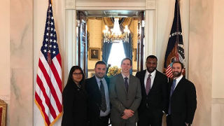 Photo of Diplomacy students in Washington D.C.