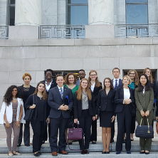 Diplomacy students in Washington D.C.