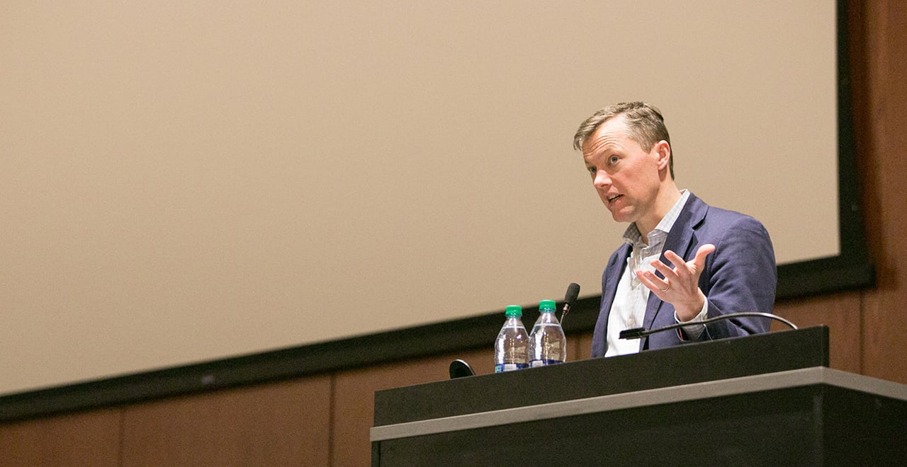 'Evicted' Author Matthew Desmond Speaks at Seton Hall