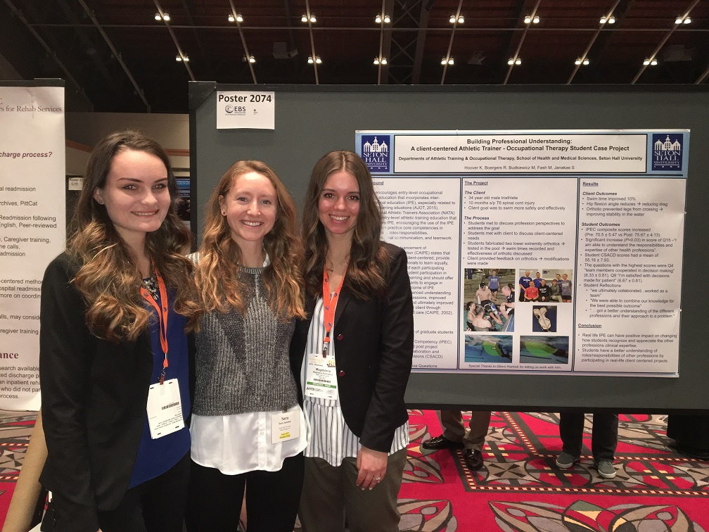 OT Students Present Research at AOTA Conference