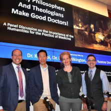 Picture of Dr. KC. Choi, Dr. Yvonne Unna,Dr. Bryan, and Dr. Brian B. Shulman Pilkington,