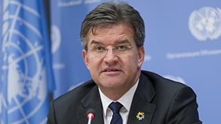 President on the UN General Assembly Miroslav Lajcak