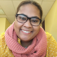 A photo of Sierra Spriggs, a social works graduate from Seton Hall University