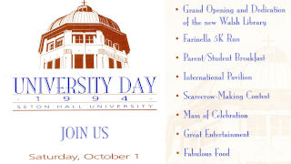 A flyer from University Day 1994
