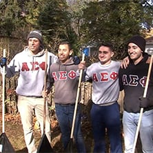 Alpha Sigma Phi students