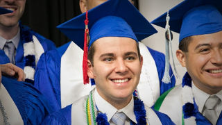Photo of graduate Andrew Hustick