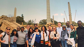 Group photo in Axum, Ethiopia.