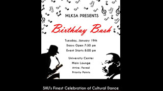 Birthday Bash: SHU's Finest Celebration of Cultural Dance