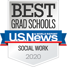 Master's of Social Work Badge