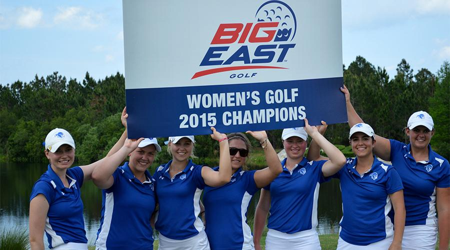 Women`s Golf Team Crowned BIG EAST Champions