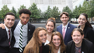 Image of students from the Buccino Leadership Institute