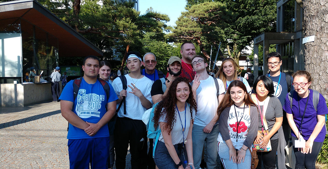 CEHS Undergraduate Students on a Study Abroad Trip to Tokyo
