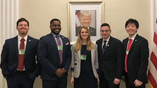 Abd el Kader Research Team at the White House