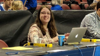 Elizabeth Swinton at March Madness 320 pic