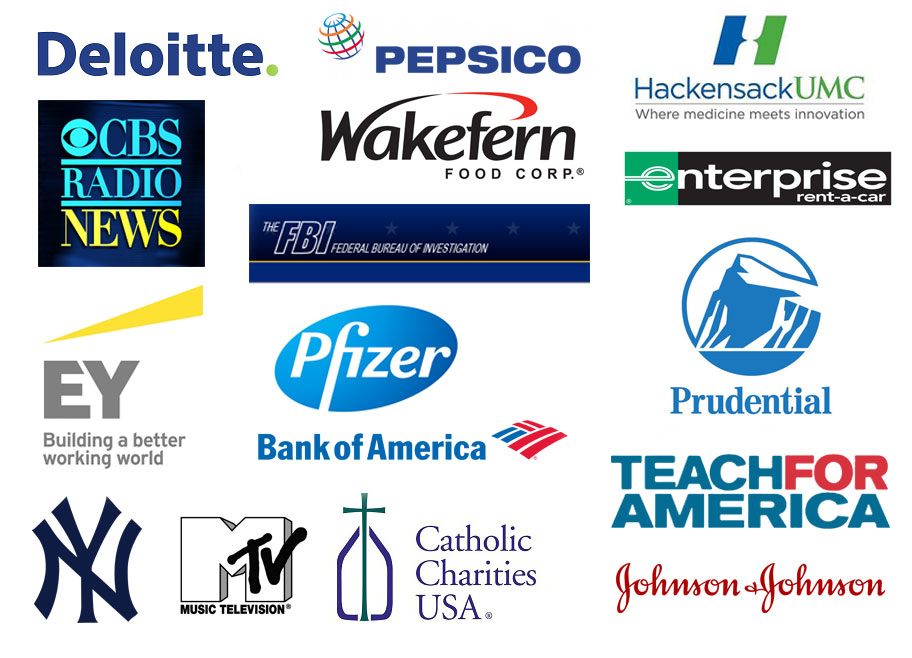 2016 Career Outcomes Employer Logos