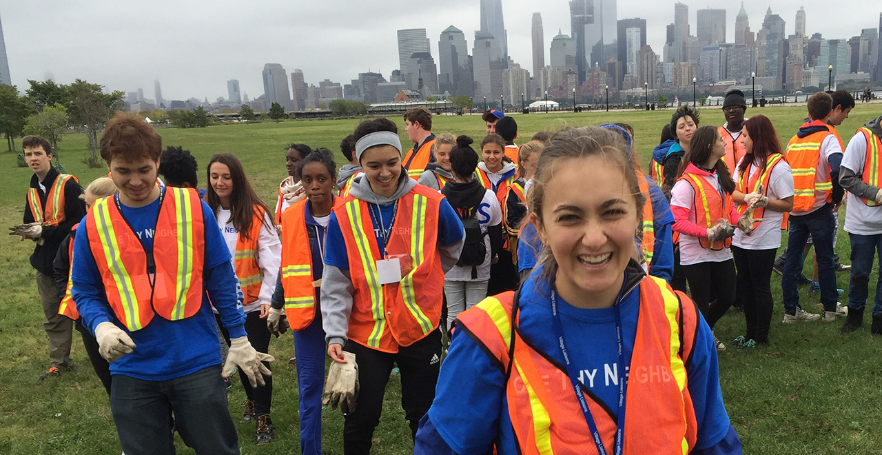 Seton Hall Students Help the Community by Volunteering with DOVE