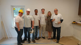 Habitat for Humanity working with Enterprise
