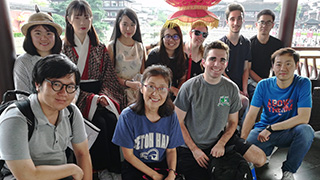 Seton Hall students studying abroad in Nanjing