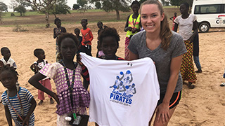 Seton Hall students studying abroad in Senegal