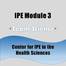 Badge for IPE Module 3.