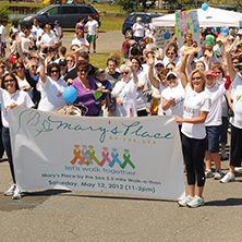Mary's Place WalkaThon participants. Participants walk to support women with cancer. x222