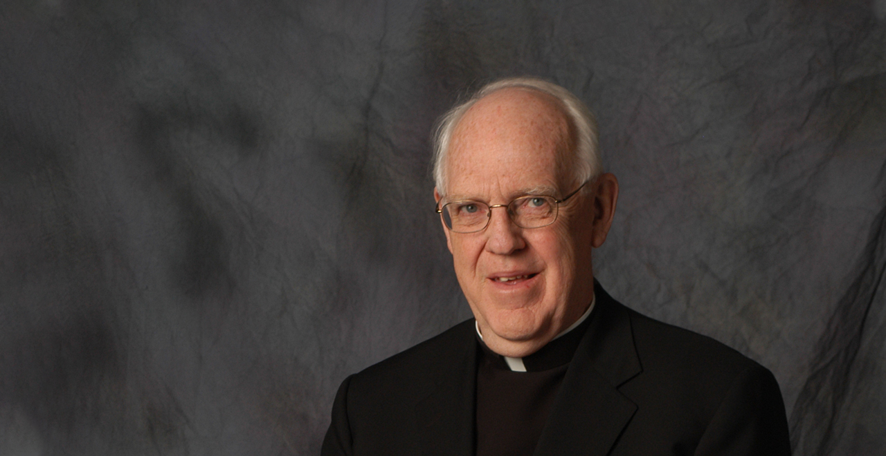 Monsignor Richard M. Liddy, founder of the Center for Catholic Studies