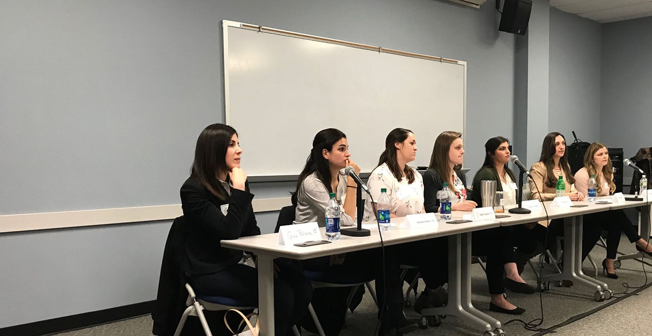 B.S.N. Alumni Panel Speaks to Seniors
