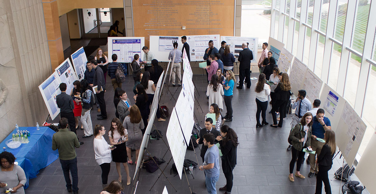 Research Poster Presentations at the Petersheim Academic Exposition