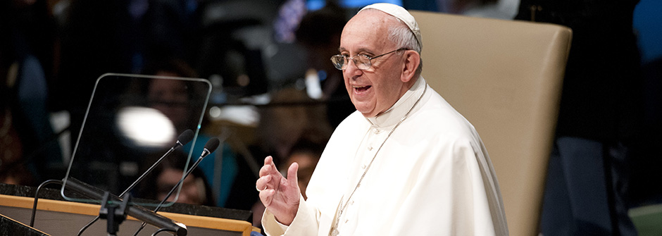 Pope Francis Speaking at the United Nations
