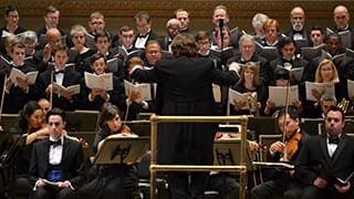 Jason Tramm Conducts the Prayer for Peace Concert