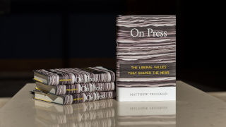Photo of Matthew Pressman's book