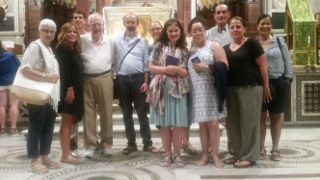 Photo of the Core faculty in Rome