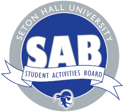SAB, Student Activities Board, logo.
