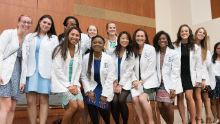 SHU nursing white coat ceremony